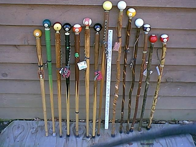Need a new walking stick for mobility or fun? Love pool and/or billiards? Great - a pool cue walking stick is right up your alley.