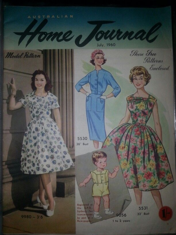 Australian home journal July 1960 cover