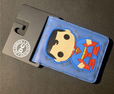 Superman Charaacter Bi-fold Wallet - Planet Suki