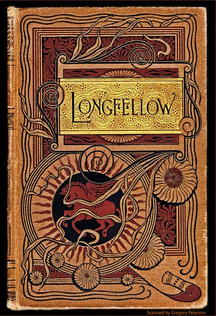 Longfellow Book Cover by newmexico51, via Flickr
