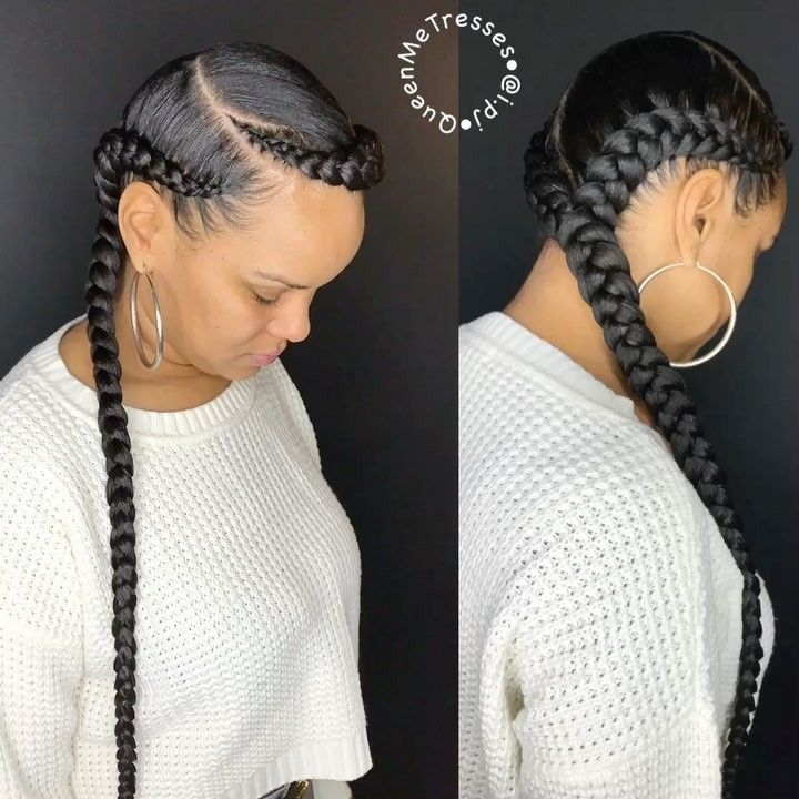"""5,937 Likes, 189 Comments - 🙌🏾✨👑 (@i.pj) on Instagram: """"OOOUUU🙌🏾✨👑 • • • Book: 2 Feed In  #NaturalHair #ProtectiveStyles #ChicagoStylist #ChicagoBraider…"""""""