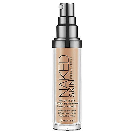 Urban Decay Naked Skin Weightless Ultra Definition Liquid Makeup: Foundation | Sephora This stuff is great - was using full coverage foundation but this stuff does the trick with a lot less product. Very, very natural looking.