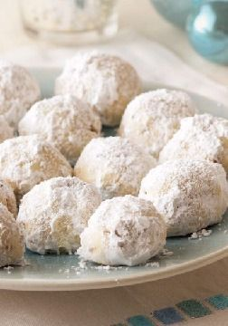 Mexican Wedding Cookies – Five ingredients and 20 minutes later, your oven is baking these sweet, melt-in-your mouth celebration cookies. If you're looking for a dessert for your Thanksgiving or Christmas get-together, you have to give this recipe a try. Plus, they're perfect as edible gifts for the holiday season. But be warned: after you make these once, your family and friends will ask you to make time and time again.