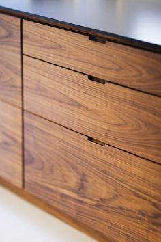 van cabinet handles no hardware subtract material instead of add material good idea for the lower kitchen cabinets