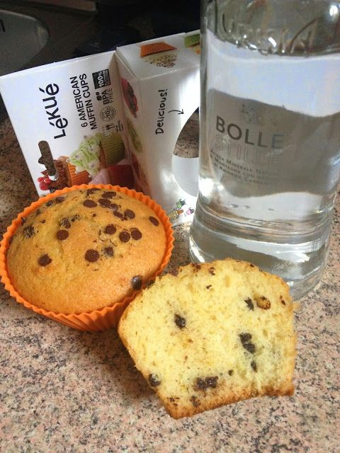 Magie In Pentola: Muffin all' acqua e gocce di cioccolato