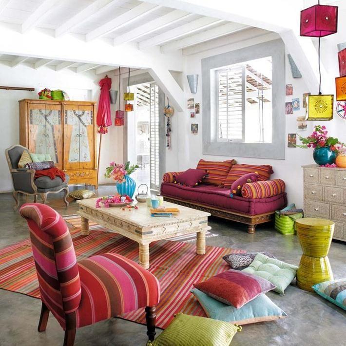 stunning bohemian home decor bohemian interior decorating ideas - Home Decor 2015