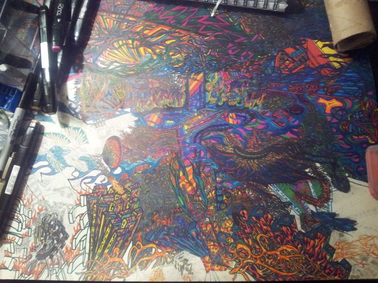 My Large Abstract Picture!!