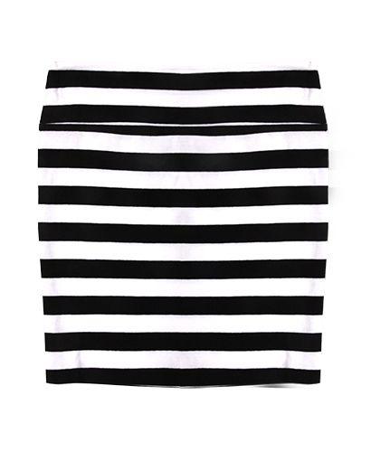 Free 2BU Striped Skirt