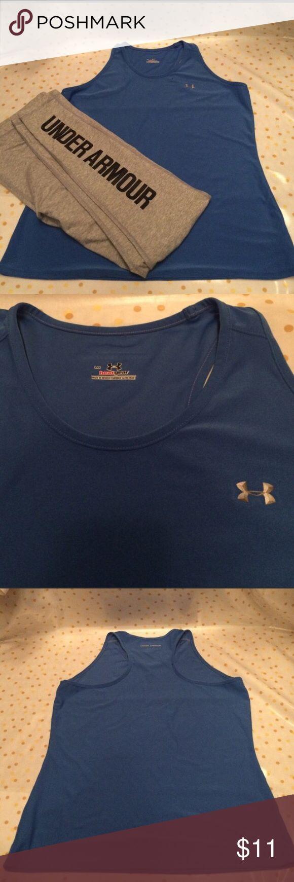 Under Armour heat gear shirt Navy blue Under Armour heat heat shirt. Pants not included. Under Armour Tops Tees - Short Sleeve
