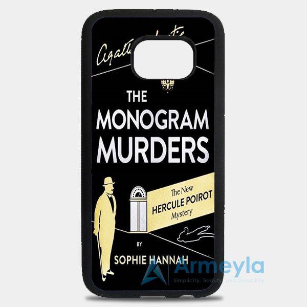 The Monogram Murders Samsung Galaxy S8 Plus Case | armeyla.com