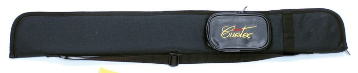 Nylon Case in Black with Pocket Holds 1 Cue