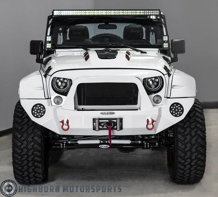 Image result for white jeep wrangler sahara custom