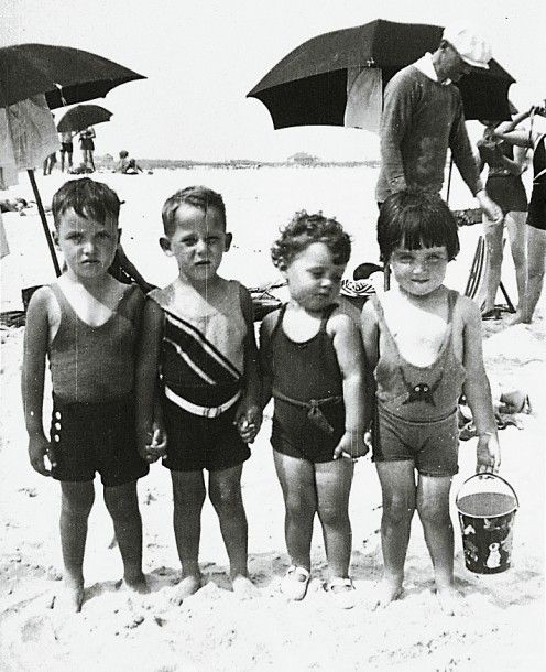 This could be kind of UV-swimwear...but it's kids swimwear from the '30s
