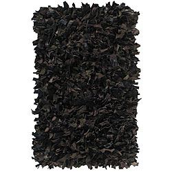 @Overstock.com - nuLOOM Handmade Alexa Premium Leather Black Shag Rug (2'6 x 8') - Enhance your home decor with a shag rug Handmade rug is a great addition to any room Casual rug features shades of black  http://www.overstock.com/Home-Garden/nuLOOM-Handmade-Alexa-Premium-Leather-Black-Shag-Rug-26-x-8/4310959/product.html?CID=214117 $65.69