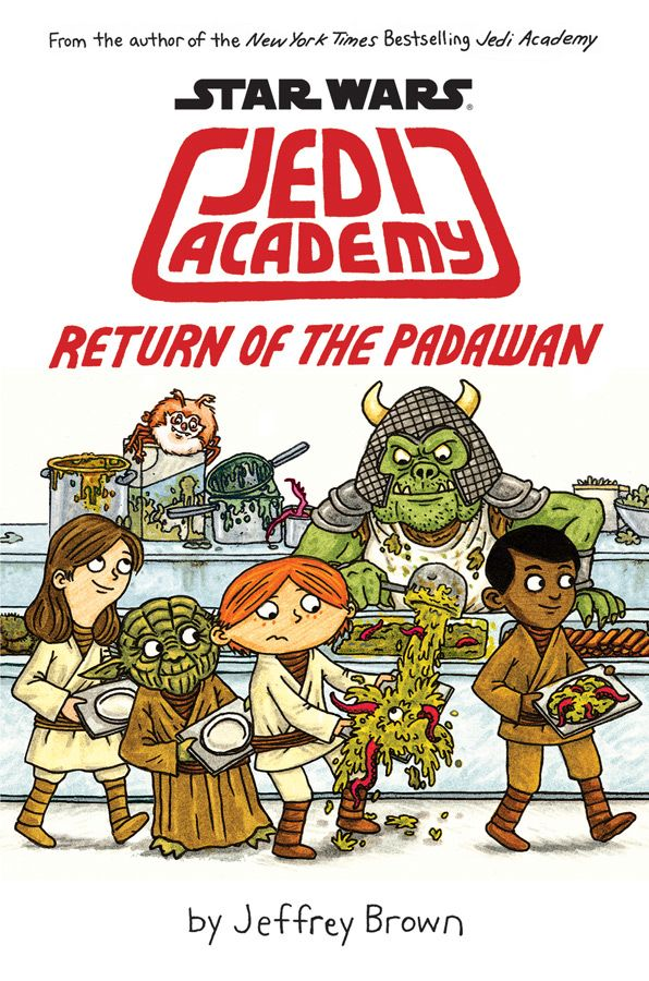 "In ""Jedi Academy: Return of the Padawan,"" best-selling author and artist Jeffrey Brown shows us what student life is like in a middle school..."
