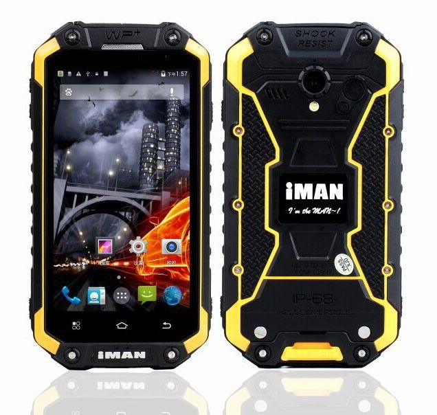 iMAN i6 Smartphone 4.7 inch HD Screen MTK6592 Octa Core Android 4.4 2GB/16GB IP67 Waterproof Dustproof Shockproof