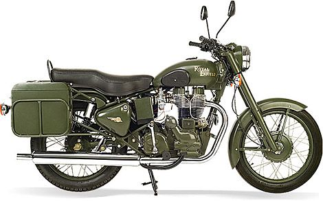 Royal Enfield Bullet 500 Military Motorcycle-- maybe after the next deployment