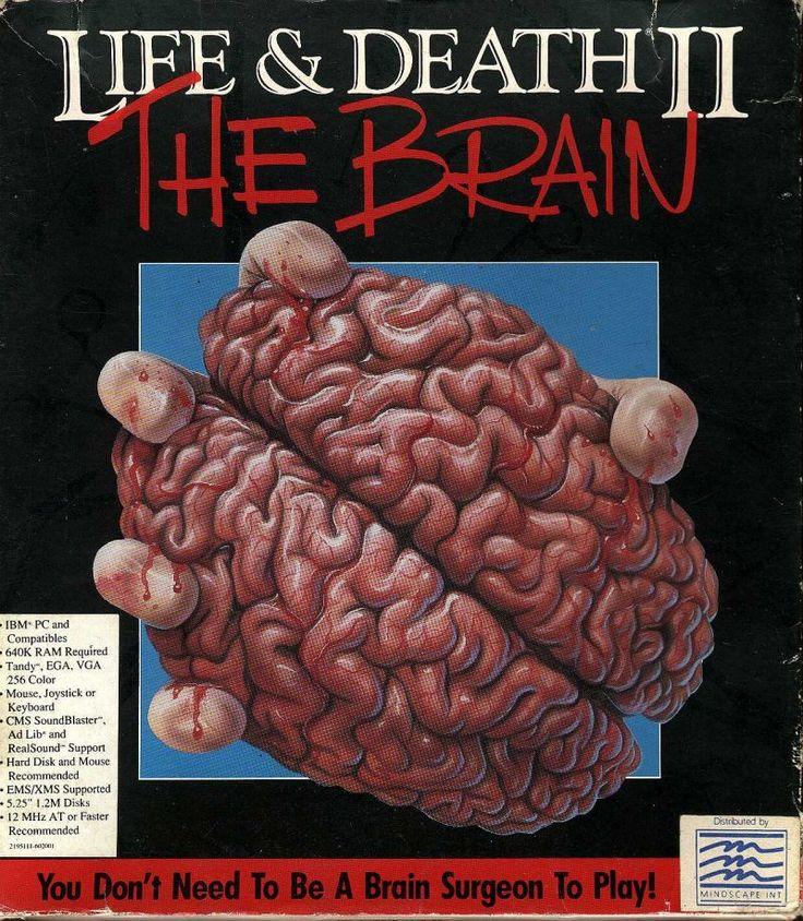 The original Surgeon Simulator, Life Or Death II: The Brain (DOS, 1990)