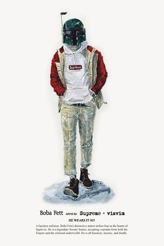 John Woo for Highsnobiety: Boba Fett wears Supreme + visvim