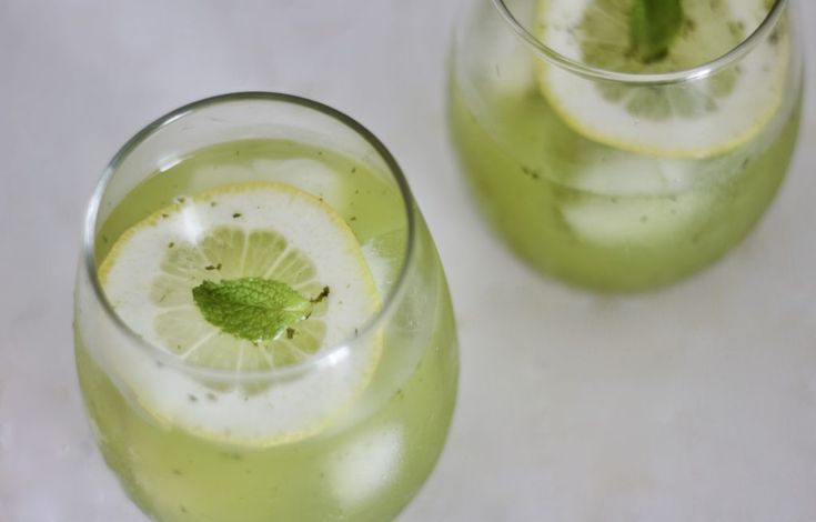 moringa is the new matcha – try it in this mint lemonade recipe