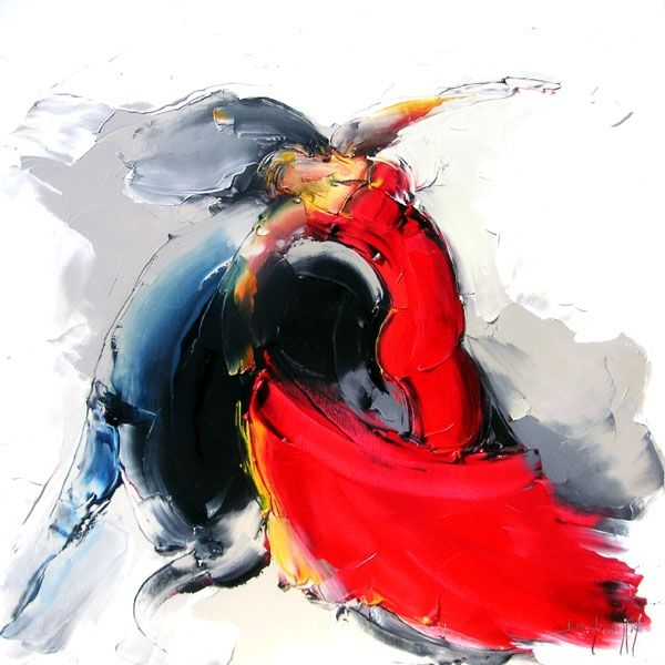 Daniel Densborn, 1946 | Flamenco dancers | Tutt'Art@ | Pittura • Scultura • Poesia • Musica