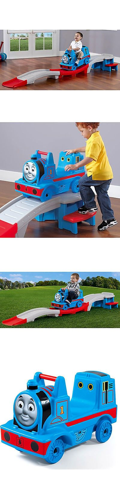 Trains and Vehicles 113518: Kids Roller Coaster Ride On Thomas The Train Toy Children Toddler Boy Toy Track -> BUY IT NOW ONLY: $109.89 on eBay!