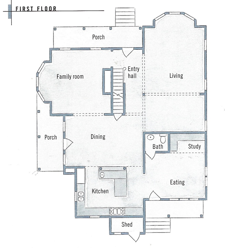 folk victorian farmhouse floor plans for the home