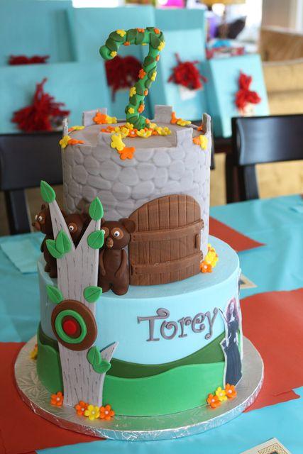 BRAVE party cake #brave #cake