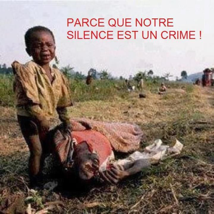 Congo: mass murder takes place right now in the general indifference // Use translation button for your language