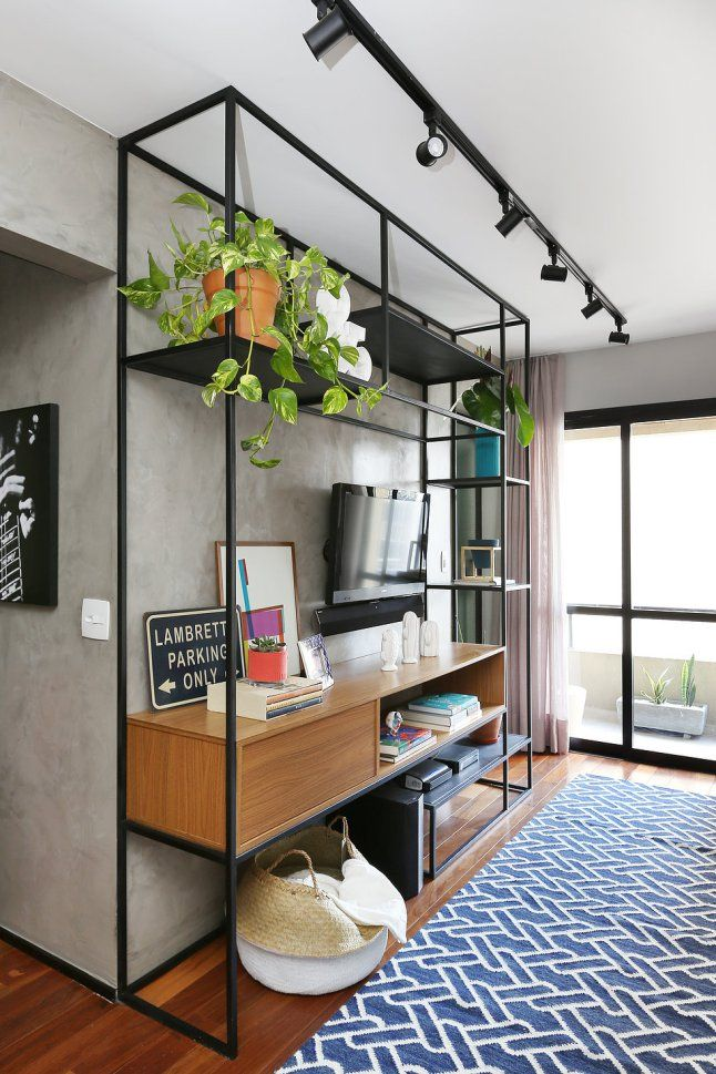 Un petit appartement pour un célibataire brésilien