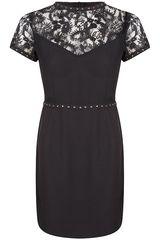 SuperTrash - jurk met kant en studs