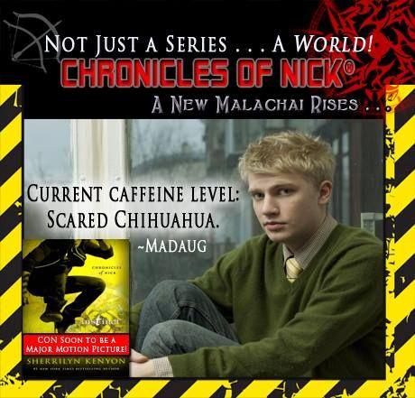 Invision Chronicles Of Nick By Sherrilyn Kenyon Books Mandegarfo