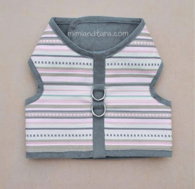 dog vest harness patterns(Pattern size XS-XXL)