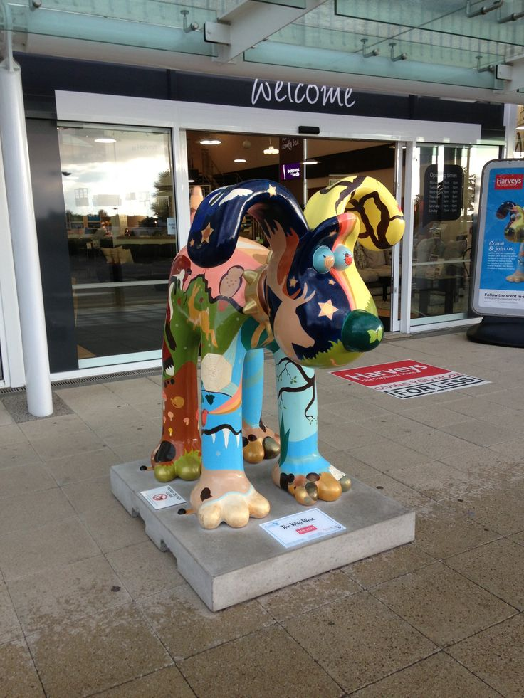 The Wild West - Cribbs Causeway. Gromit Unleashed