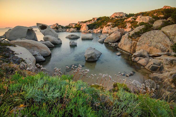 Le Piscine - Sunset - Location: Le Piscine (Costa Serena - Palau) © All Right Reserved