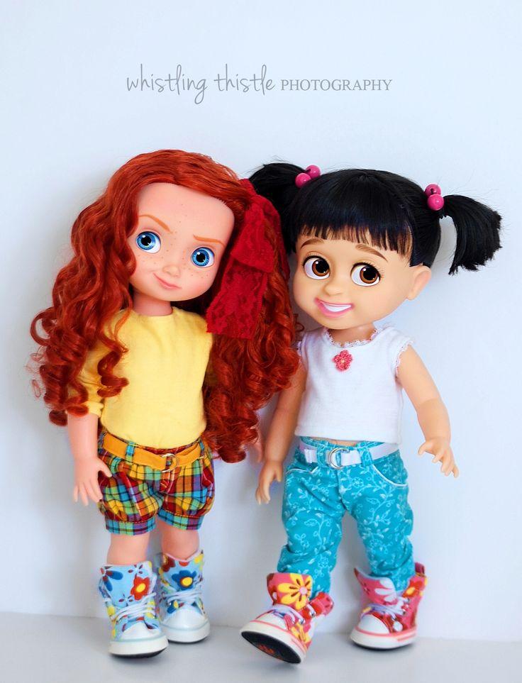 Princess Merida and Boo