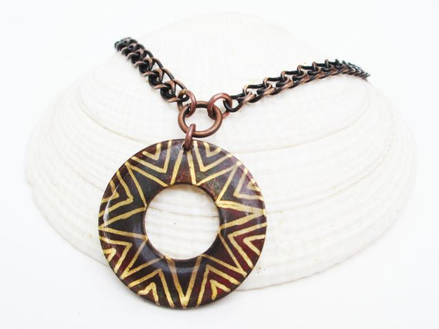Integrity and Wholeness Large Circle Pendant