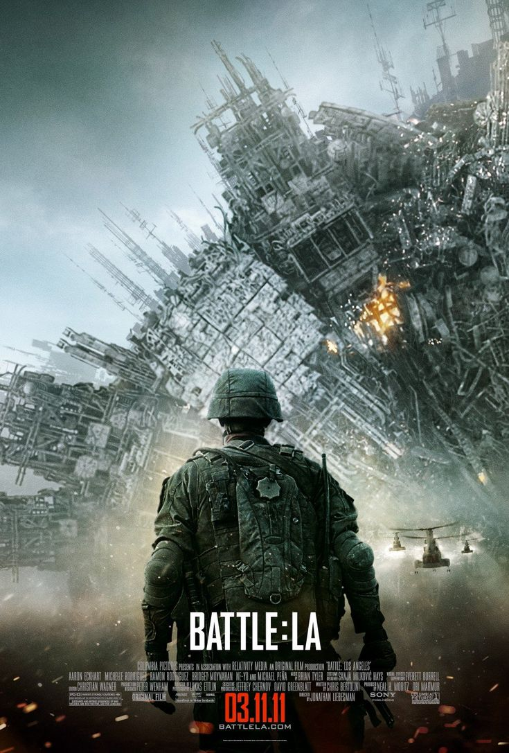 ★ ★ ★ ★ ★  (35%) Overlong and overly burdened with war movie clichés, Battle: Los Angeles will entertain only the most ardent action junkies (source: www.rottentomatoes.com).