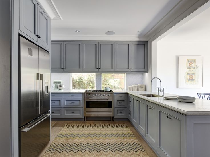 Kitchen Michael Bell Architects and Thomas Hamel Interiors. Justin Alexander Photography.