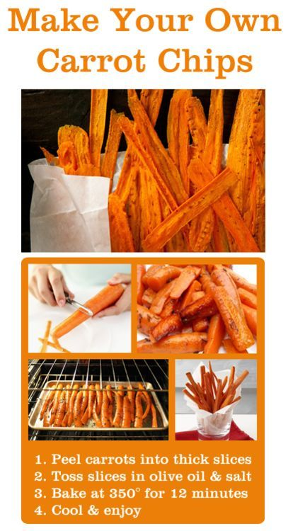 Carrot Chips ~ yummy! Use Frylight to make Slimming world friendly!