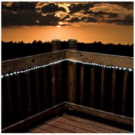 13 best outdoor lighting for walk and fountain images on pinterest solar 23 foot long led white rope lights aloadofball Choice Image