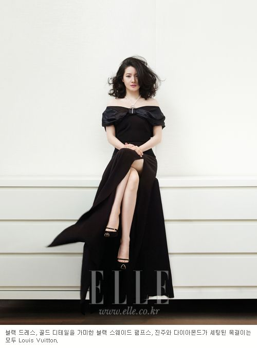 Style, ELLE,이영애,magazine,fashion,black,dress