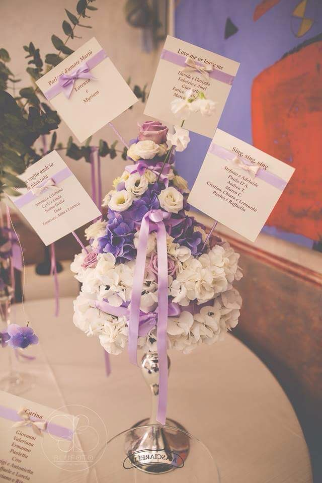 Tableau de mariage  Photographer: Blu Foto  Floral Design: Filly Creazioni Floreali