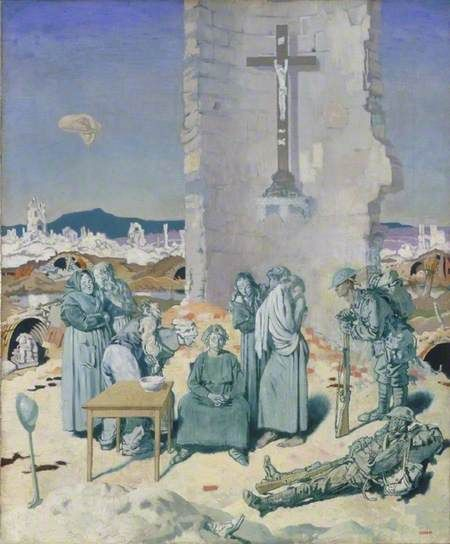 The Mad Woman of Douai by William Orpen 1918