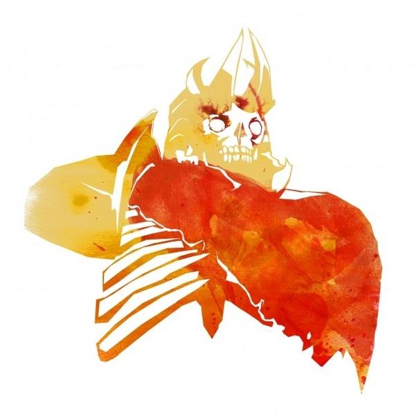 DOTA 2 - Illustration: Skeleton King