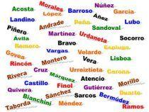 Los apellidos en España