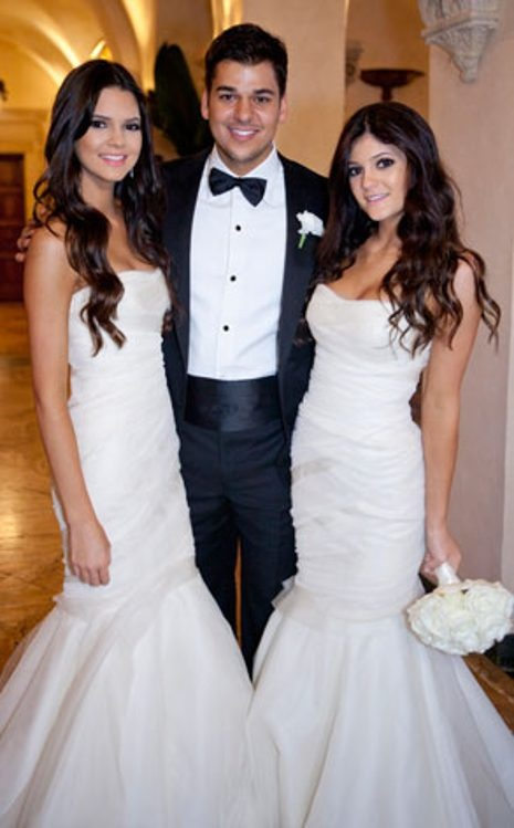 Kendall Jenner, Robert Kardashian, Kylie Jenner, Kardashian Wedding
