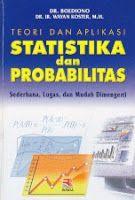 ajibayustore  Judul  : TEORI DAN APLIKASI STATISTIKA DAN PROBABILITAS Pengarang : Dr. Boediono & Dr. Ir. Wayan Koster, MM. Penerbit : Rosda
