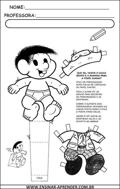 """Novas Atividades Festa Junina ~ """"Atividades Escolares"""""""