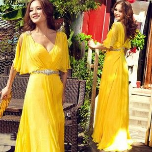 New evening dress dinner evening Gown long design formal dress party dress-inEvening Dresses from Apparel & Accessories o...